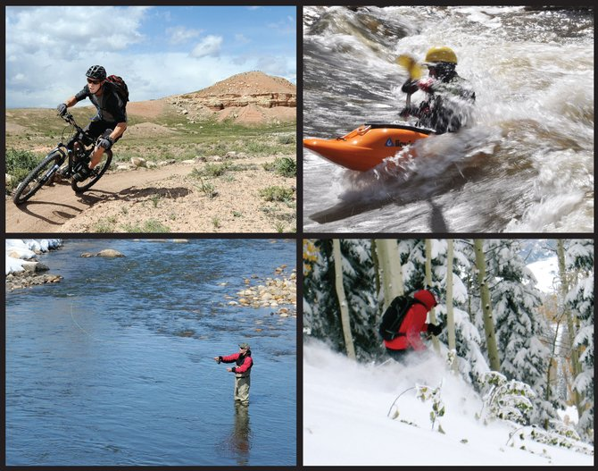 Yes, it's mud season in Steamboat, but options still abound in the area. Plenty of Colorado ski resorts are still open for those still wanting to hit the slopes, or head out toward Utah for some biking riding. In town, river rats can hit up the raging waters of the Yampa River, or head to Stagecoach to fish.