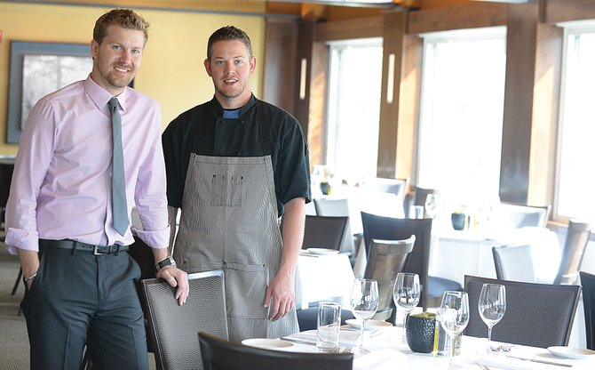 Phil Armstrong, owner of the new Aurum restaurant, and chef Chase Willbanks plan on bringing an entirely new dining experience to Steamboat Springs