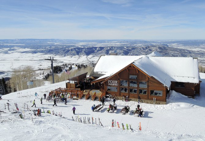 Ski Corp. won environmental praise for the construction of the new $5 million Four Points lodge, which was built using LEED principles.