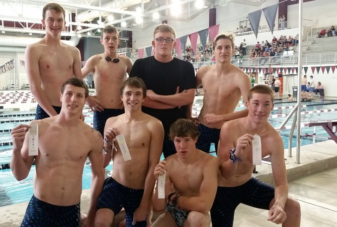 The Moffat County boys swimming team took third and sixth in their relay events at the Western Slope League Championships last weekend. Now, the relays will try to secure a place at the state meet Friday and Saturday in Fort Collins.