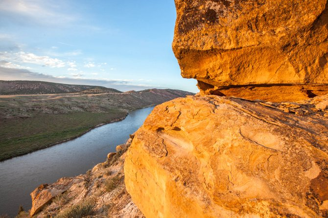 John Fielder, award-winning Colorado photographer, is visiting Craig on Thursday to present his work to the community. He traveled through the Yampa Valley during the weekend and captured this photo of the Little Yampa Canyon.