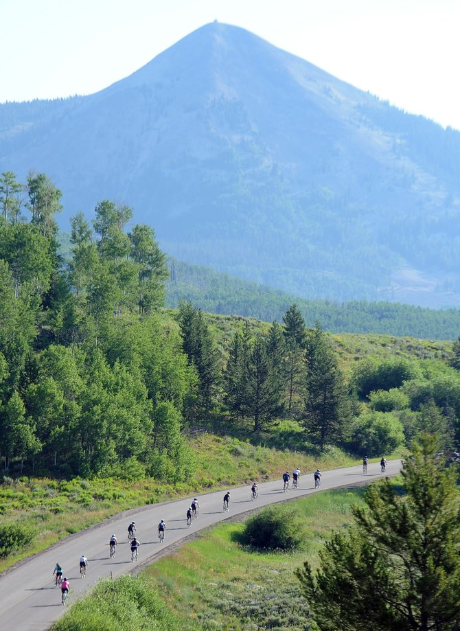 Steamboat Springs will play host to five triathlons this summer, starting with Saturday's Give it a Tri event at Old Town Hot Springs. The Steamboat Triathlon at Lake Catamount is in its 10th year, and the Steamboat Lake Sprint Triathlon, above, is back this summer for its fourth. The beginner-targeted Give it a Tri event is returning for its second year while two new events are scheduled for this summer.