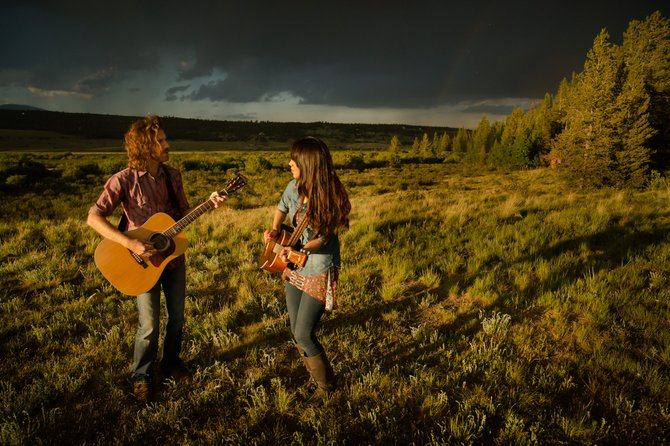 Austin based indie-folk-americana duo Miranda Dawn and Chris Hawkes