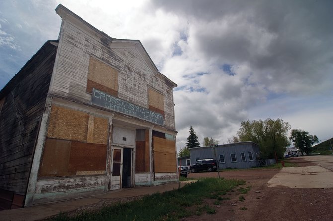 The Crossan's M&A Market building in Yampa, which was built in 1903 and operated as a market until 1964, will have a benefit for the restoration of the classic early 19th century grocery July 26 at the Antlers Cafe in Yampa.