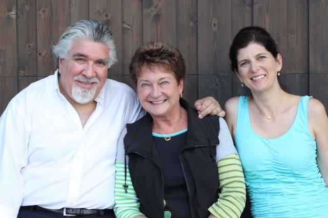 Andrés Cárdenes, Kay Clagett and Monique Mead.