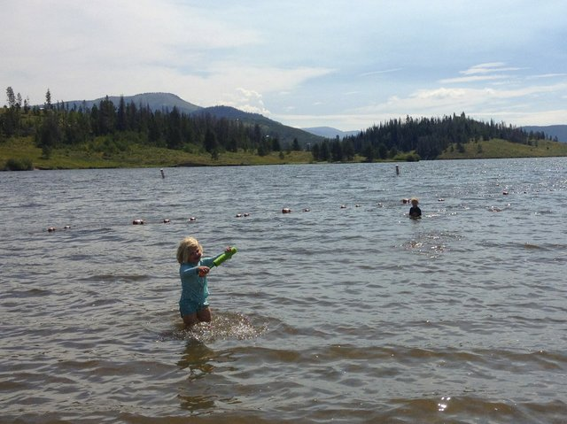 Kelly Bastone and her daughter's trip to Steamboat Lake