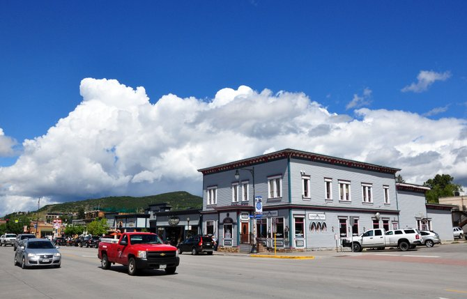 A large part of downtown Steamboat Springs has been designated as a national historic district. Old Town Pub, pictured, historically was the Ernest Campbell Building that was constructed in 1904. It is one of the buildings in the district.