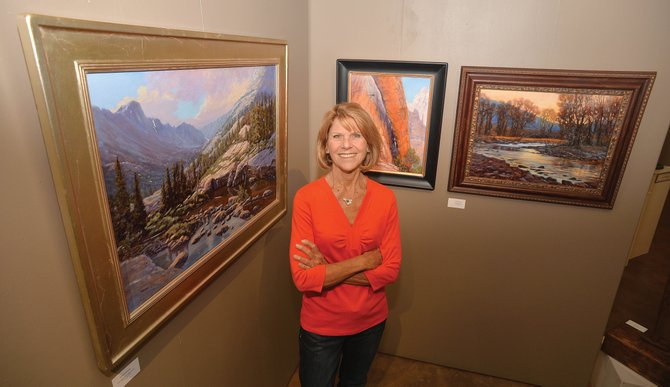 "Steamboat Springs artist Bonnie McGee has been getting a lot of attention for her work lately. McGee's painting ""Convergence"" earned Best of Show at the Plein Air Artist of Colorado National Show at the Abend Gallery in Denver."