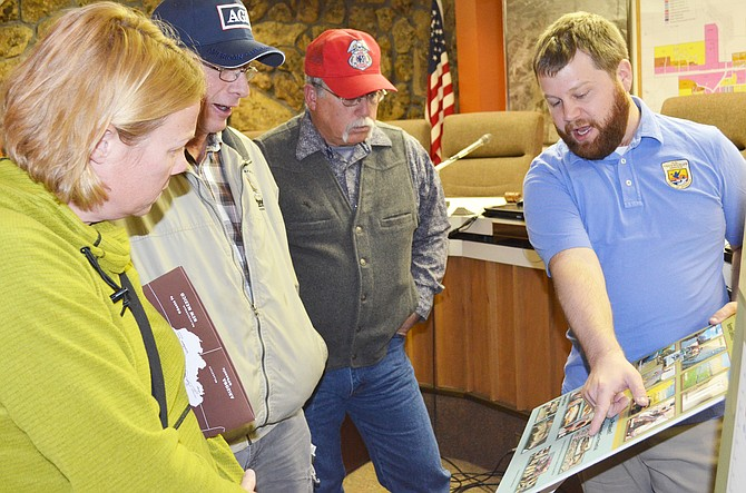 Cpw craig community discusses net over elkhead reservoir for Colorado fish and wildlife