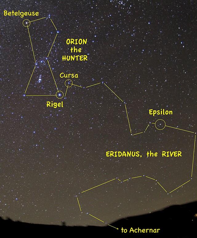 Jimmy Westlake: Eridanus - a river of stars   Steamboat ...