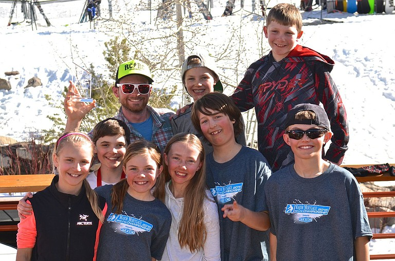 Steamboat Springs Winter Sports Club U12 Alpine ski racers placed third in the Team Cup standings last weekend at their championships at Powderhorn.