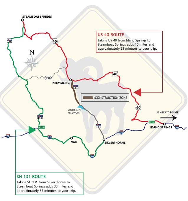Denver News Closures: Highway Lane Closures Begin Between Silverthorne And