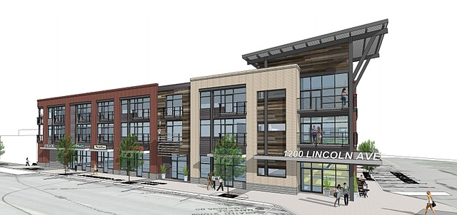 Planning commission approves 60 unit apartment building for 6 unit apartment building