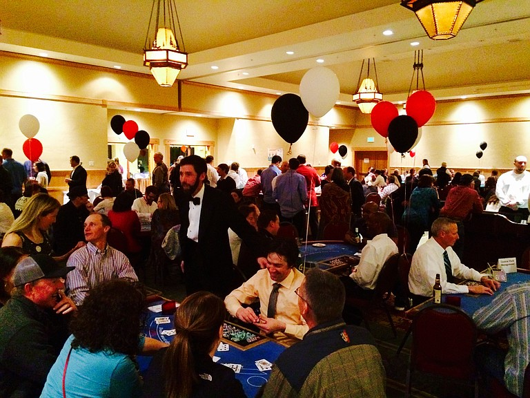 aces and eights casino nights fundraisers for sports