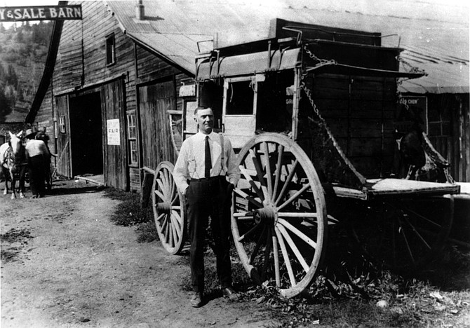 "Charles H. Leckenby, longtime editor and publisher of the Steamboat Pilot and author of ""The Tread of Pioneers."""