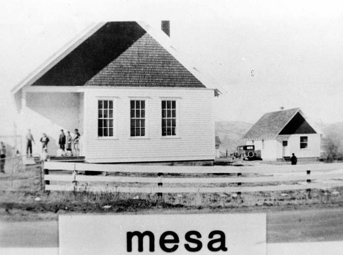 The historic Mesa Schoolhouse will the site of some upcoming events sponsored by the Tread of Pioneers Museum, the city of Steamboat Springs and Historic Routt County.
