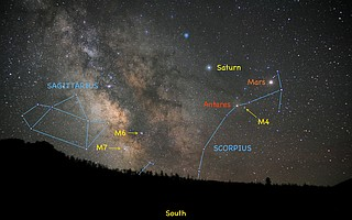 Jimmy Westlake: Scorpius livens up the summer sky