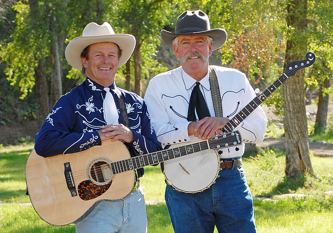 Steve Jones, left, and John Fisher – the Yampa Valley Boys, host an evening of Western music and cowboy poetry during at the Chief Theater, 7 p.m., July 9.