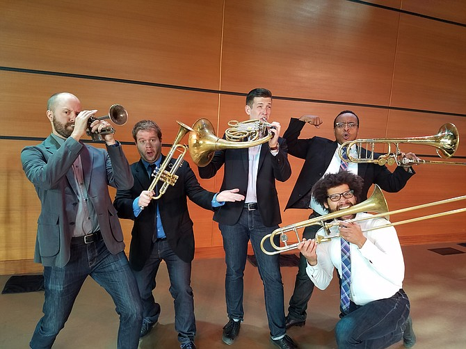 """The Pittsburgh-based C Street Brass will be performing at 4 p.m. Sunday, July 24 at the Strings Music Pavillion in the city's first-ever """"sensory-friendly"""" concert for families."""