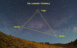 Celestial News: Summer Triangle rides high