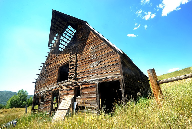 The iconic barn that sits near the Meadows Parking lot was built by the Arnold Family in 1945. Today, the barn is not being maintained.