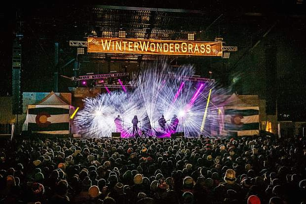 """As part of its move to Steamboat Springs in February, WinterWonderGrass will host """"pop-up"""" bluegrass jams at locations on the mountain, surrounded by outdoor fire pits and barbecues, in additional to the traditional stage concerts."""