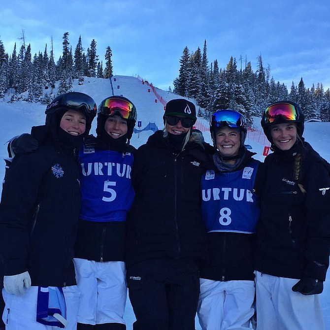 It was a strong weekend for the women of the Steamboat Springs Winter Sports Club freestyle ski team as they logged high finishes at the U.S. Ski Team Selections event in Winter Park.