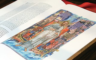 Rare Bible on loan at Holy Name Catholic Church in Steamboat Springs