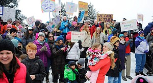 Women's March on Steamboat Springs