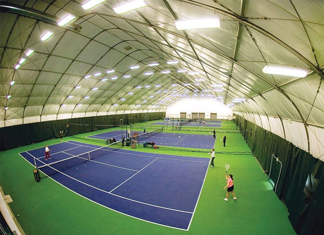 It's a big week at the Tennis Center at Steamboat Springs, with director Loretta Conway taking home an award in Denver and professional tennis player Luke Jensen coming to town for a series of clinics Monday.