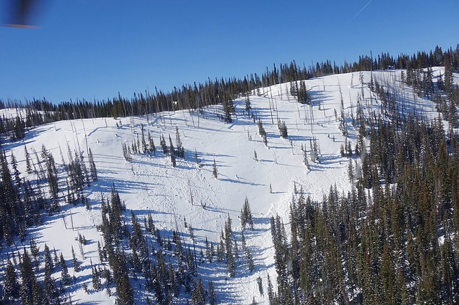 The avalanche that killed Steamboat Springs resident Jesse Christensen on Tuesday broke along the ridgeline and was about 880 feet wide.
