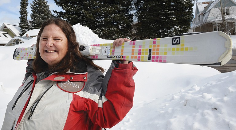 Skier Sue White will represent the United States, Colorado and Steamboat Springs at the 2017 Special Olympic World Winter Games.
