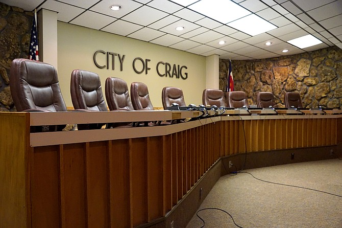 Four city council members and one new mayor will help fill the seats at Craig City Hall.