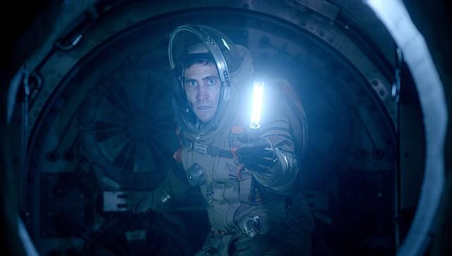 """David Jordan (Jake Gyllenhaal) searches for something terrifying in """"Life."""" The movie is about a crew on the International Space Station who discover life on Mars, only to have it run amok."""