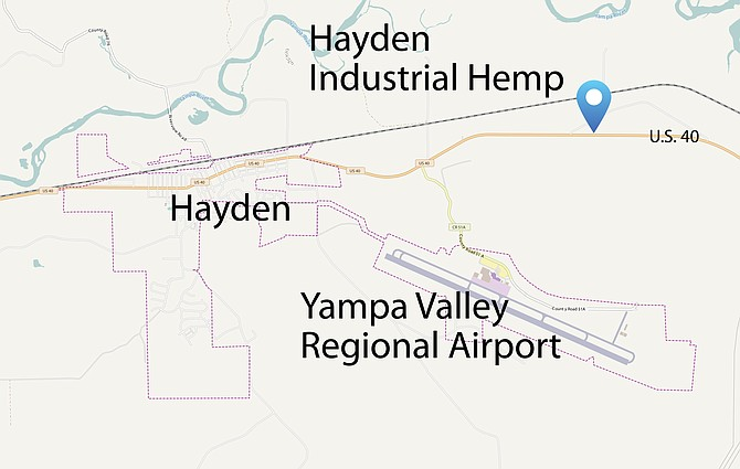 The principles in Hayden Hemp Industrial are seeking county approval for their plans to grow hemp plants in new greenhouses off U.S. Highway 40 20 miles west of Steamboat Springs.