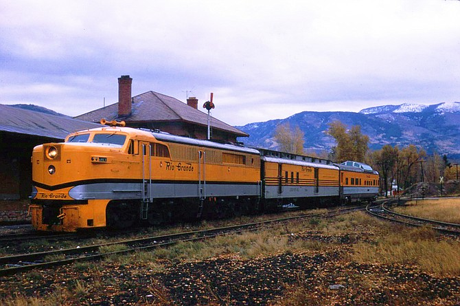 Our Train: A Reminiscence Of The Yampa Valley Mail's Final