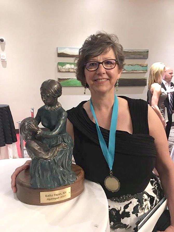 Craig nurse educator Kathy Fagan was recognized on Saturday for being one of Colorado's top nurses.