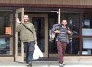 Giles Charle and David Siller talk about their experience after being released from Routt County Jail.