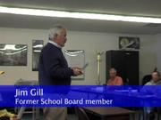 Six people spoke out during the public comment portion of Thursday's special school board meeting.