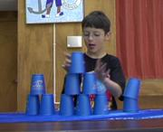 Soda Creek Elementary School second grader Will McConnell placed seventh at the Sport Stacking championships in Denver.