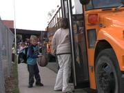 Parents have different reasons for wanting to take their kids to and from school.