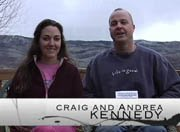 Craig Kennedy talks about his new book with his wife Andrea.