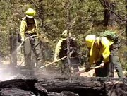 By Tuesday afternoon the Buffalo Park wildfire was 75 percent contained. The fire was relatively small, burning about 16 acres, but firefighters say conditions are ripe for more fires.