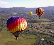 July 7 Steamboat Balloon Rodeo from the sky.