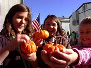 Soda Creek Elementary Students got some additional exercise Thursday thanks to the Pumpkin Fun Run.