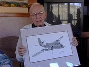 WWII veteran Marvin Shively shares his stories