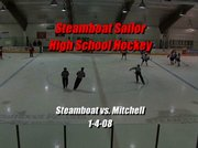 Steamboat Springs High School hockey highlights from their Jan. 4 game against Mitchell. Steamboat won 5-1.