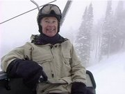 At 73 years old, it is possible that Harold Fischer is the oldest snowboarder to regularly hit the slopes at the Steamboat Ski Area.