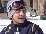16-year-old Christopher Rodriguez learned to snowboard last week thanks to the Sunshine Kids Foundation.