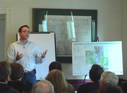 Colorado Group Realty on Tuesday hosted a talk with Steamboat 700 project manager Danny Mulcahy. Mulcahy briefly shared his philosophy on affordable housing in Steamboat.